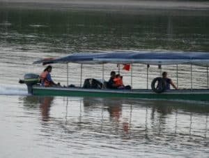 Boat trips along the Napo, ,Coca and Payamino Rivers to visit different destinations.