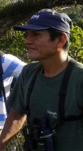 Our Birdguide Oscar Tapuy would be leading most of these Birding Trips from Coca.